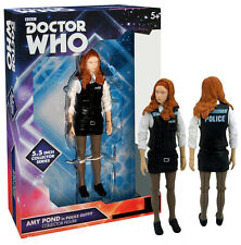 "Doctor Who Amy Pond Police Outfit 5"" Figure Tenth Dr BBC Official New MOC Mint"
