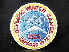 1972 Sapporo Olympic Games Patch   TEAM USA