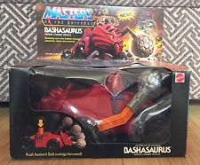 MASTERS OF THE UNIVERSE MATTEL MOTU HE-MAN BASHASAURUS VEHICLE  BOXED SEALED