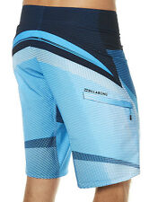 "NEW + TAG BILLABONG MENS 34"" FLUID X BOARDSHORTS PLATINUM X STRETCH SHORTS BLUE"