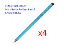 STAEDTLER ® Mars Rasor Eraser 52660 Rubber Pencil SET OF 4 for pinpoint erasing