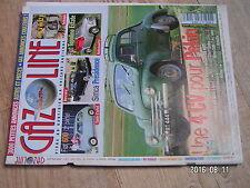 $$v Revue Gazoline N°136 4 CV Pekin  Fiat 600  Simca Presidence  Fiat Topolino