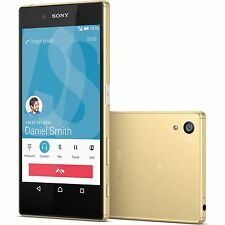 "Sony Xperia Z5 Gold Smartphone 5.2"" Unlocked 32GB SR/BB Unlocked Excellent"