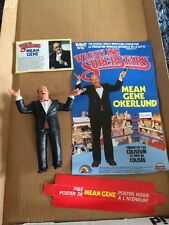 WWF WWE LJN WRESTLING SUPERSTARS MEAN GENE OKERLUND Poster Card