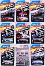2015 Hot Wheels Fast & Furious 8 Car Set Supra Nissan Subaru Walmart Exclusive