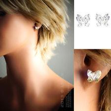 Boucles d'oreilles Papillon en ARGENT 925 et Cristal - 1394000 - BigBang-Bijoux