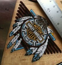 Set Of 2 Harley-Davidson Eagle Inside NOS Window Decals.Vintage Harley Stickers