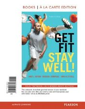 "Get Fit, Stay Well! Books a la Carte Edition (3rd Edition) ** BONUS 1"" BINDER **"