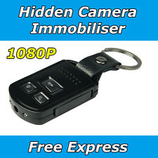Home Security Video Camera mini portable 1080P Car Key Remote Cam no SPY Hidden