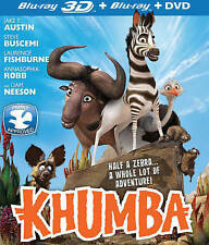 KHUMBA  (Blu-ray/DVD, 2014, 2-Disc Set, 3D/2D) BNISW FANTASTIC CAST OF ACTORS