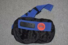 SUPERB RARE REEBOK PUMP BLACK & BLUE BUM BAG