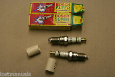 2 x candele ORIGINALE BOSCH-P/N h7dc-Made in Germany P/N 0241229635 NUOVO CON SCATOLA