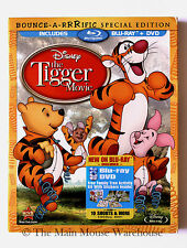 Disney The Tigger Movie Blu & DVD w/ Slipcover + 10 Winnie Pooh Cartoon Shorts