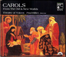 CAROLS From Old & New Worlds THEATRE OF VOICES Paul Hillier CD Weihnachtslieder