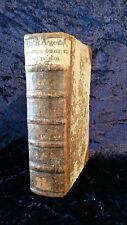Livre Ancien XVIII Louis François D'Argentan Ubungen Des Innerlichen Christen