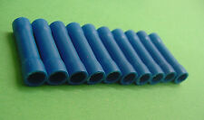10x Blue Insulated Butt Splice Crimp Connectors 16 14 Gauge Electrical Wiring