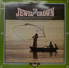 "OST - SOUNDTRACK - THE JEWEL IN THE CROWN - GEORGE FENTON  12""  LP (N272)"