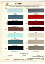 1964 PLYMOUTH BARRACUDA BELVEDERE FURY VALIANT 64 PAINT CHIPS DITZLER 3 14PC