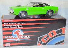 Limited Edition 1:24 Diecast King of the Strip 1971 Plymouth Cuda Matco Tools