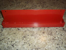"EVERY CRAFTSMAN NEEDS A RED POWDER COATED STEEL 1/2"" SOCKET SET TRAY ORGANIZER"