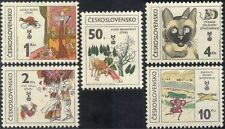 Checoslovaquia 1981 Children's Books/caballo/Gato/ganado/Gallito 5v Set (n44158)
