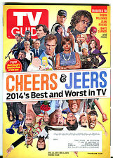 TV Guide Dec. 22, 2014-Jan. 4, 2015 Double Issue Cheers & Jeers EX 010816jhe
