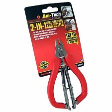 Am-Tech 2 in 1 Wire Stripper and Cutter Snips Tool