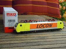 Piko 57950 E-Lok BR 189 the LOCON Private train Holland Ep.5/6 With DSS