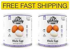 New Augason Farms Emergency Disaster Survival Dried Whole Eggs Mix RV Food 2 Pk