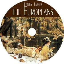The Europeans, a Henry James Classic Comedy Adventure Audiobook on 6 Audio CDs