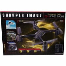 Sharper Image rechargeable 2.4 Ghz, DX-3, Video Drone (2920031
