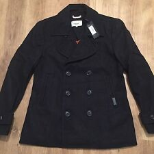 Superdry Mens Commodity Slim Pea Coat - Size XXL. BNWT