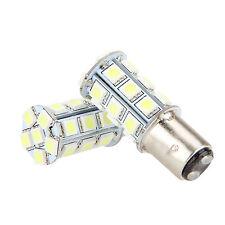 5050 LED 2x 24SMD 1157 BAY15D White Dual Filament Car Brake Stop Tail Light Bulb