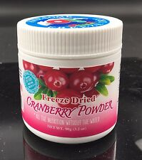 Awesome Fruit Dust 90g (3.17OZ) Freeze Dried Cranberry Powder