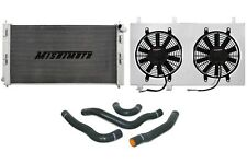 MISHIMOTO Radiator+Fan Shroud+Hose Kit Black 08-14 Mitsubishi Lancer Evo X/10 MT
