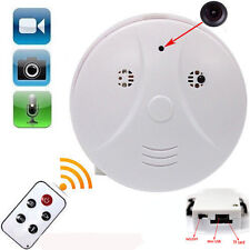 Hidden Dummy Smoke Alarm Motion Detection Detector Covert CCTV Spy Camera Video