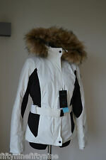 LADIES AUTHENTIC NEW WHITE NAPAPIJRI SKI JACKET SIZE MEDIUM €660