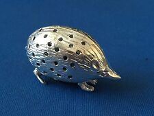 HEDGEHOG PIN CUSHION STERLING SILVER VICTORIAN STYLE