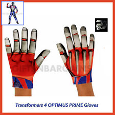 Transformers 4 Optimus Prime Age of Extinction Boys Child Costume Movie Gloves