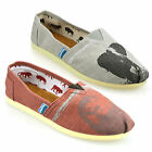 Mens Casual Leather Lined Canvas Espadrilles Plimsolls Trainers Pumps Shoes Size