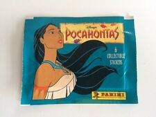 PANINI - Pocahontas - Disney - Pixar **MINT** Sealed Bustina Pack Stickers!!!