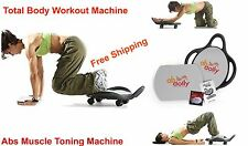 Abdominal Muscle Toning Six Pack Arm Shoulder Thighs Fitness Body Abs Machine