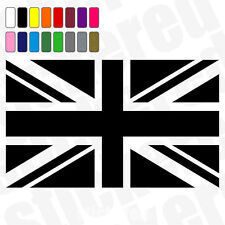 UNION JACK CAR / VAN / CARAVAN / BIKE / WINDOW VINYL STICKER / DECAL 100mm