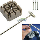 Wachmakers Watch Repair Tool Kit Band Remover - Hammer Punch Pins Strap Holder