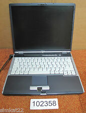 """Fujitsu Siemens Lifebook S7020 14 """"ORDENADOR PORTÁTIL, Pentium M, N ° Ram, Sin Disco Duro, de recambio y reparación"""