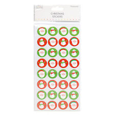 Simply Creative Chipboard Christmas Santa/Snowman stickers for cards and crafts