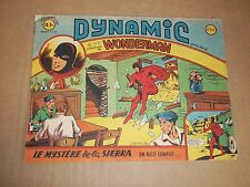"BD ""DYNAMIC no 15"" WONDERMAN / DUPUICH (1950)  ARTIMA / RECIT COMPLET"