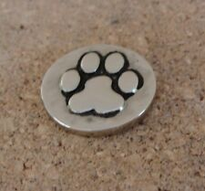 GINGER SNAPS™ HAMMERED PAW PRINT Jewelry - BUY 4, GET 5TH $6.95 SNAP FREE