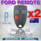 2 x Ford AU Falcon/FPV/XR6/XR8 Car/UTE Remote Control Series 2 & 3 99-02 AU2/AU3