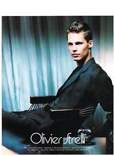 PUBLICITE ADVERTISING  2003   OLIVIER STRELLI  haute couture